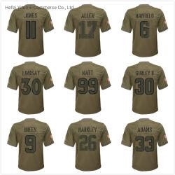 새로운 도착 남녀 공통 주문을 받아서 만들어진 폴리에스테 Camo 팀 축구 Jerseys를 서비스하는 2019 인사