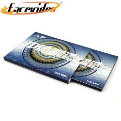 Le design de mode impression haut de gamme carte vidéo de l'enveloppe de 10,1 pouces écran LCD HD boîte Vidéo Brochure défini pour projet d'entreprise Don