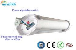 55W-60W-65W-70W de puissance 1500mm réglable Tri la preuve de lumière LED 100LMW-130LMW-150FPM
