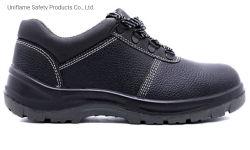 Schoenen van het Werk van de Veiligheid van de Teen van het Staal van de Industrie van het Leer van de Schoenen Ufe030 van de Veiligheid van de Teen Pu van het Staal van het Leer van mensen de Enige Waterdichte Werkende Echte Industriële voor Schoenen van de Veiligheid van Mensen de Unisex-