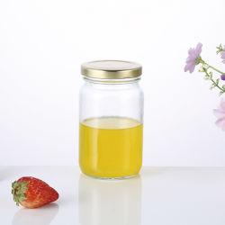 Nouveau produit de stockage alimentaire hermétique 330ml en verre bouteille de sauce chaude