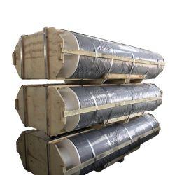 700 mm UHP de baixo consumo de eléctrodos de grafite de carbono com 4 bicos de TPI para fornos de arco eléctrico do Aço