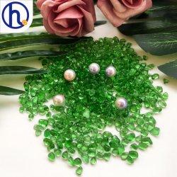 Commerce de gros bon marché en perles de verre de couleur en vrac