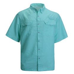 Camicia degli uomini Sudare-Assorbenti di pesca dell'Rapido-Essiccamento esterno della protezione solare