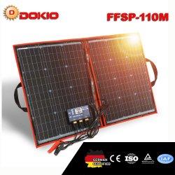110W (55Wx2PCS) Mono Foldble flexível Painel Solar 100W para viagens e Barco & RV Painel Solar Portátil de alta qualidade