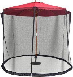 Portable patio-jardín al aire libre cubierta de paraguas gran Mosquitera