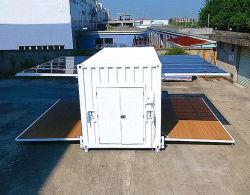 Construções prefabricadas Prefab móveis modulares de vida de madeira Aço Shiping portátil pequeno recipiente de escritório móvel Luxury House