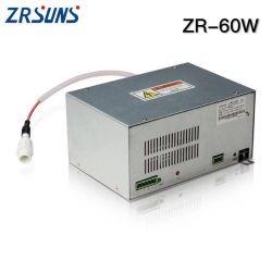 Zrsuns laser CO2 60W d'alimentation pour machine au laser
