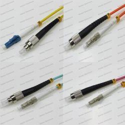 LC-FC Sm/mm/OM1/OM2/OM3/OM4 Sx 2.0/3.0 PVC/LSZH Cordon de raccordement à fibre optique