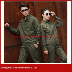 2020 Newest Fashion Printemps Hiver personnalisé de gros 100% coton Veste Denim Cargo vert (W839)