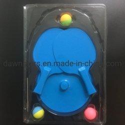 Nuevo eje de carbono baratos suave plástico raquetas de tenis de mesa Juego juguete Kid