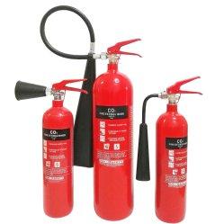 Portable 2kg CO2 de acero al carbono extintor de incendios