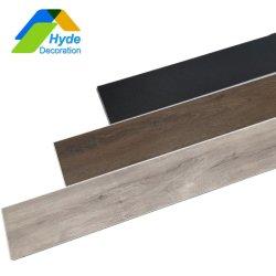 """48"""" fabricado en madera de frondosas de PVC de textura haga clic en el piso de vinilo"""