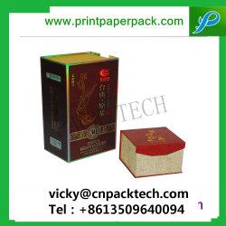 Vente à chaud de luxe personnalisé Heavy Duty boîte cadeau en carton vin Emballage Emballage de thé plateau de jeu et l'emballage d'impression