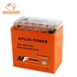 Libre de Mantenimiento Sellada Recargable Gel de Plomo-ácido Baterías de Almacenamiento de la Motocicleta