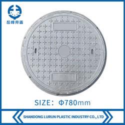 Fr124 Couvercle de vidange de la route de plein air de la résine composite BMC/SMC/couvercle de trou d'homme ronde PRF