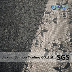 Zxp25512/spandex en nylon dobby Jacquard tissu à mailles pour les vêtements