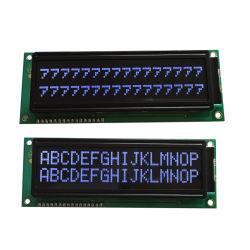 문자 LCD COB 유형 16X2 흑백 LCD 모듈 디스플레이