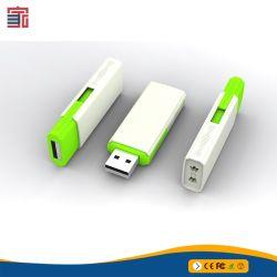 Förderung-Qualitäts-Plättchen-Viereck Plastik-USB-Blitz-Laufwerk hergestellt in China