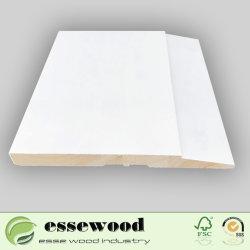 Les garnitures de bois de pin des prix de gros des plinthes