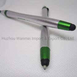 Promoción Logotipo personalizado Imprimir Pantalla táctil de plástico bolígrafo puntero lápiz