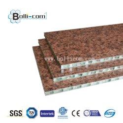 Blocco per grafici di comitato di alluminio del favo della vetroresina per la pietra