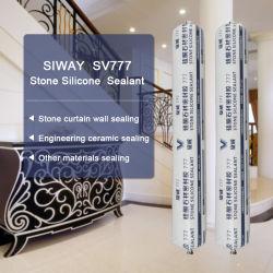 Mur rideau en marbre ou granit joint en silicone/silicone adherent