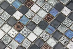 Mosaico de vidrio de diseño moderno con certificado