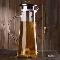 POT di vetro doppio 1500ml per la spremuta di limone