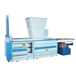 Compressão de fibra a fibra de algodão máquina de enfardamento