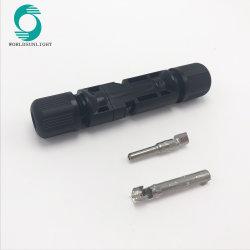 Connettore di cavo solare di CC 1000V Mc4 del maschio/femmina del Ce IP67 2.5mm2~6.0mm2