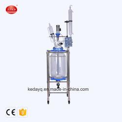 Laboratorio Portátil vacío biorreactor de la unidad de filtro de vidrio