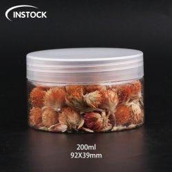 200ml pet jarra jarra de plástico para helados y dulces Botella de almacenamiento