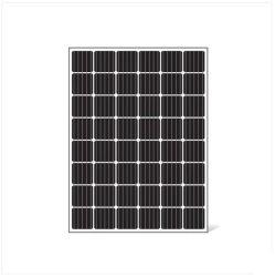 لوحة شمسية أحادية اللون بقوة 250 واط للاستخدام في المنزل ومحطة الطاقة 80W90W100W150W200W