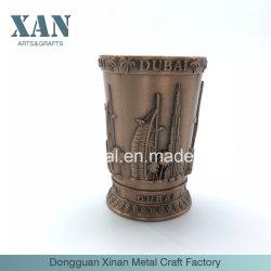 Aleación de zinc cobre personalizado de metal tallado Artesanal de velas