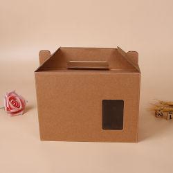 Luxuxpappqualitäts-Zoll gedruckter verschiedener Größen-gewölbter Karton-verpackender Papierkasten für Kleidung, Kleid, T-Shirt