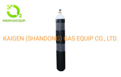 Bouteille de gaz vide N2, Ar, CO2 des bouteilles de gaz avec capacité d'eau 1-50l
