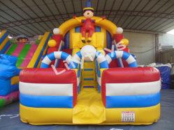 Китай горячие продажи коммерческих используется сухой слайд детей игрушки Bouncer надувные слайдов