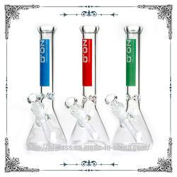 """Verre Hfy faites de verre pour tuyaux d'eau fumer Hitman et tuyau Zob Bécher 10"""" Tabacco tuyaux de verre"""