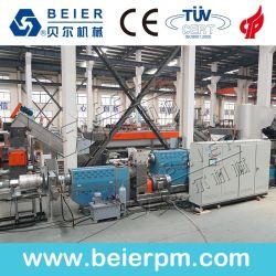 Salida de alta el reciclaje de Plástico PP PE Máquina de peletización rallar la línea de producción