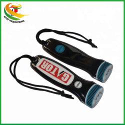 Portachiavi LED in PVC morbido con logo personalizzato