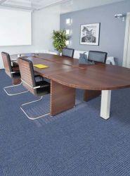 Nylon antistatique PP tapis en dalles avec le soutien à des fins commerciales en PVC/hôtel/chambre