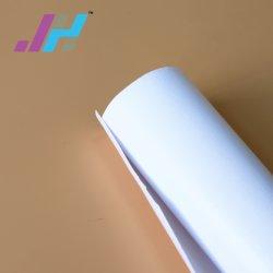 380 gramos de rollo de tela de lona de poliéster imprimibles de inyección de tinta