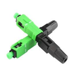 Высокое качество оптоволоконный разъем SC/блок защиты и коммутации разъем быстро оптоволоконного оборудования для сети FTTH