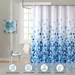 Ty-C2133D venda quente 2020 Novo desenho impresso a cortina do chuveiro para banho