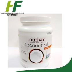 Nutiva y orgánico, Aceite de Coco refinado, de 54 fl. oz (1,6 l)