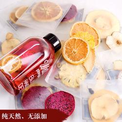 Roter Blumen-Nettonektar-handgemachte Frucht schneidet Orange-Passionsfrucht-Tee