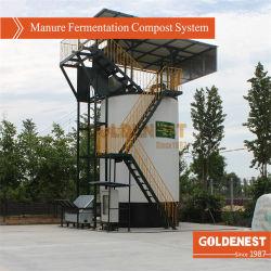 発酵肥料の合成物を処理する家禽の肥料