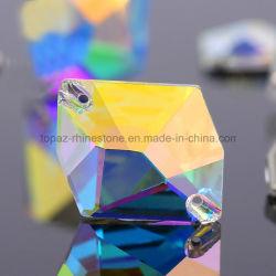 Fancy 5un cristal Ab Décoration strass DMC de pierres précieuses perles de verre