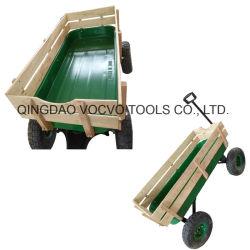 4つの車輪のツールのカートはWoganの木のカートのツールのカートをからかう